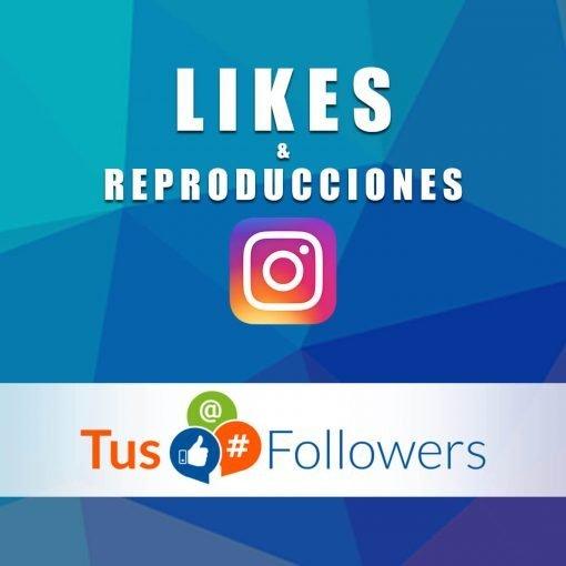 Likes y Reproducciones para Instagram